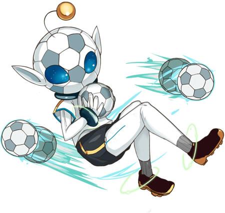 【騎士…?】蹴球型リトルグレイ