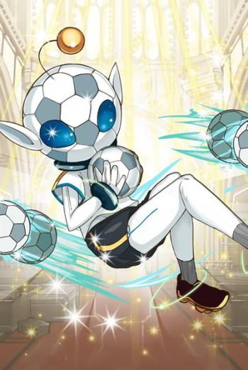 UR(★5)蹴球型リトルグレイの進化後キタコレ!!!(*´∀`*)これは当たりだ!