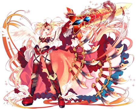 【赤熱の剣姫】支援型イテール