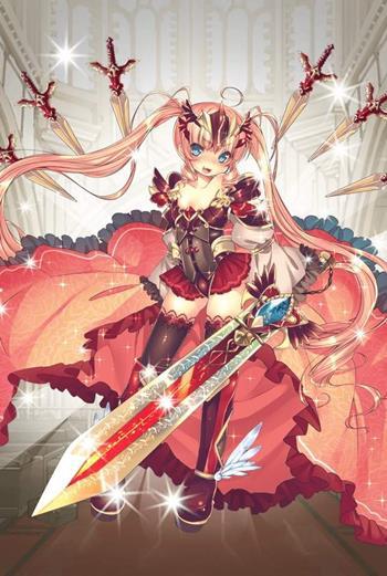 【赤鎧の騎士】支援型イテール
