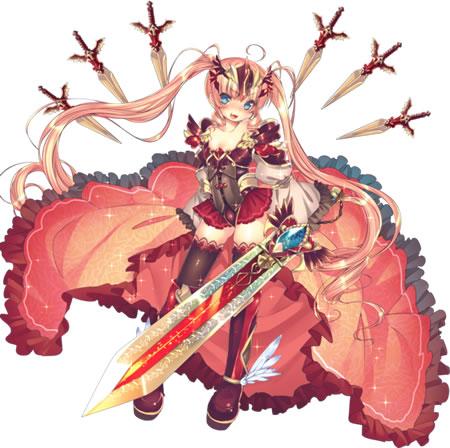 【赤鎧の騎士】支援型イテール★4
