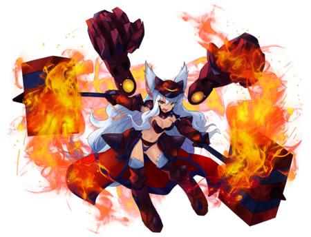 【人狼の騎士】第二型ビスクラヴレット