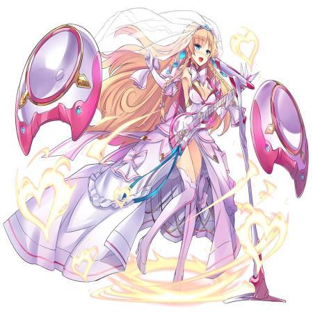 純白型歌姫アーサーの毒ダメージハンパないな!wバフ乗せ+4チェインで光属性の敵に撃ったら毒だけで10万前後とかwww