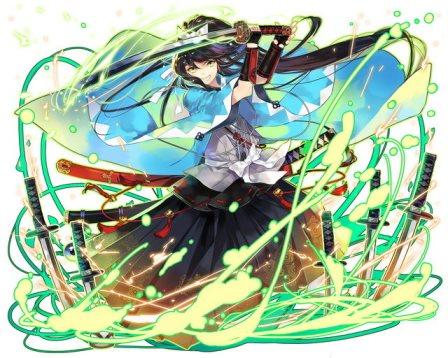 メンテナンス明けに追加されるであろう新キャラビジュアル公開第二弾!和人をモチーフにした特異型が多数登場!