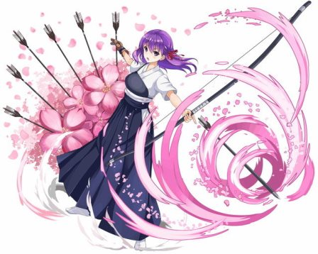 弓道桜可愛いし癒しだけど、ウィンドチアリーイーターには封印の関係で入れにくい…回復バフとチェイン活用で上手く使ってあげないとねww
