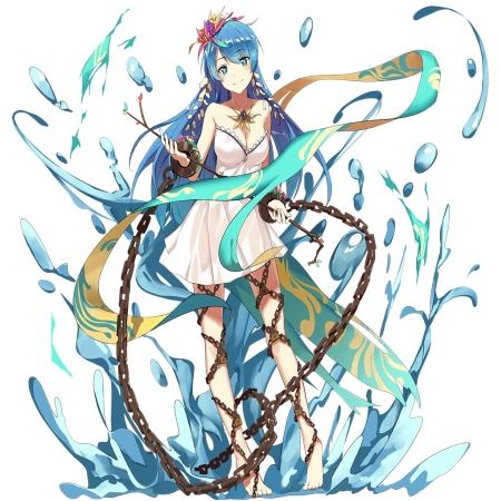 星冠型アンドロメダ、KEIミクの魔法支援版だけど騎士メダル交換にも追加くるぞ!!歌姫は魔支カードの方が揃えやすいよなww