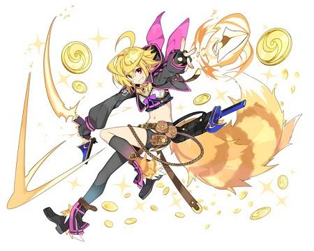 第1回キャラクター人気投票で1位になった盗賊アーサーの「サポート妖精」が岩野氏のTwitterで公開中!可愛すぎるwww