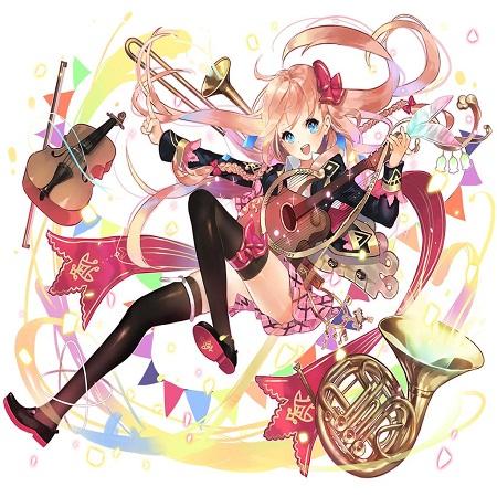 学徒型歌姫アーサーは感謝型傭兵の次にオススメな物理バフカード!!コラボ凛の上位互換でリセマラ候補としてもGood!