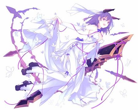 歌姫の純白型ファルサリアは1枚で回復バフ→回復の順に発動するありがたい仕様!無くても何とかしてきたけどこれは待望スキル…