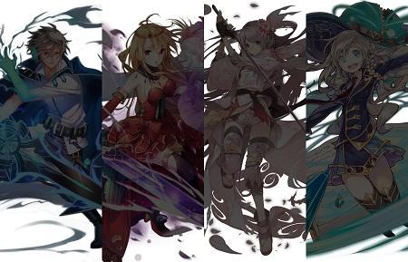 新イベント&新キャラ「天剋の騎士」イラストが公開!!6月上旬開始予定のイベントで素材を集めて4人の「天剋の騎士」を手に入れよう!!