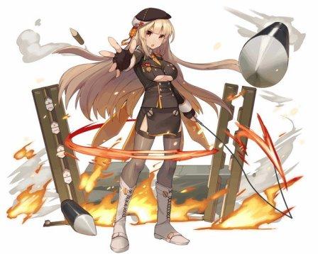 軍装型スカアハはさやか&杏子の属性違い!!貴重な2属性持ちの1コス回復バフ&リジェネカードだぞ!