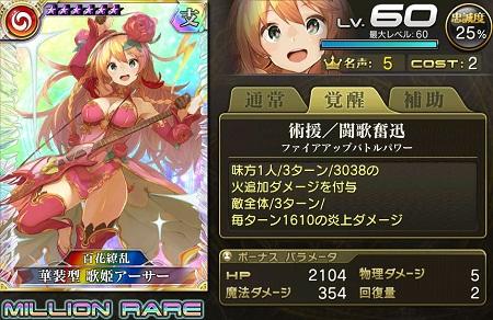 華装型歌姫アーサーMRステータス