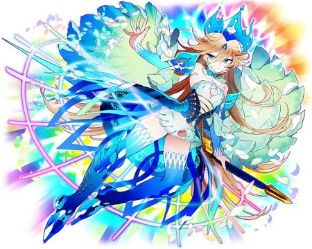歌姫の聖装型アロンダイトは兎遊型ハーレの色違い!歌姫ファルサリアとか使えばバフ値も上げやすいけど…