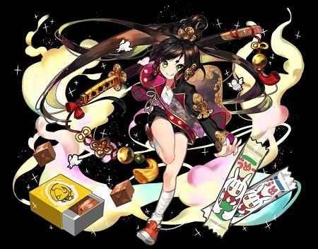 歌姫の学徒型牛若丸は出す枚数が増えるごとに全ダメージバフ値が4000ずつアップ!低コストで組む必要あるけどめちゃ強いのでは!?