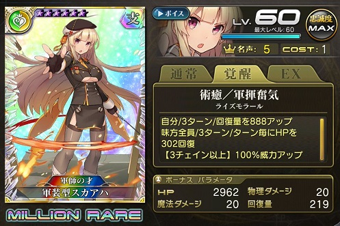 軍装型スカアハ_忠誠度MAX